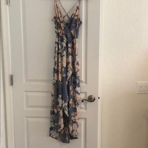ASTR the label floral dress